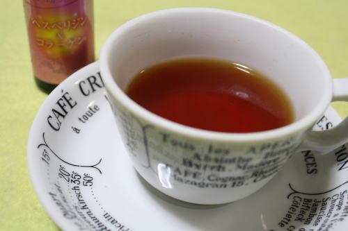 紅茶とヘスペリジン&コラーゲン