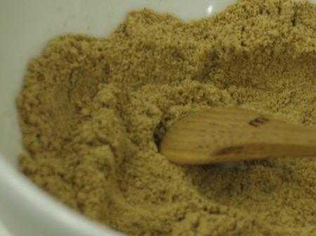 平柳式 ウルトラ蒸ししょうがパウダーのアップ