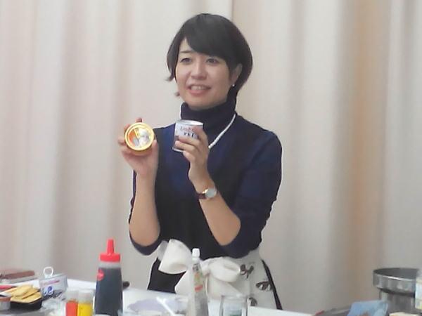 ホタテ缶とヒジキ缶